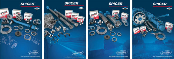 Poster Spicer Products (all 4 differnt posters in 1 packaging unit)