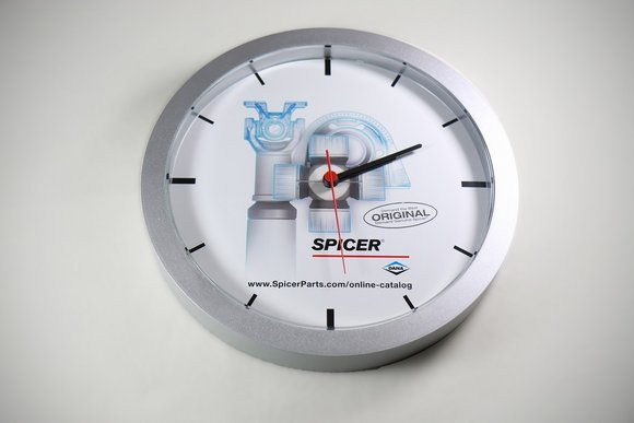 Spicer Driveshaft Wall Clock
